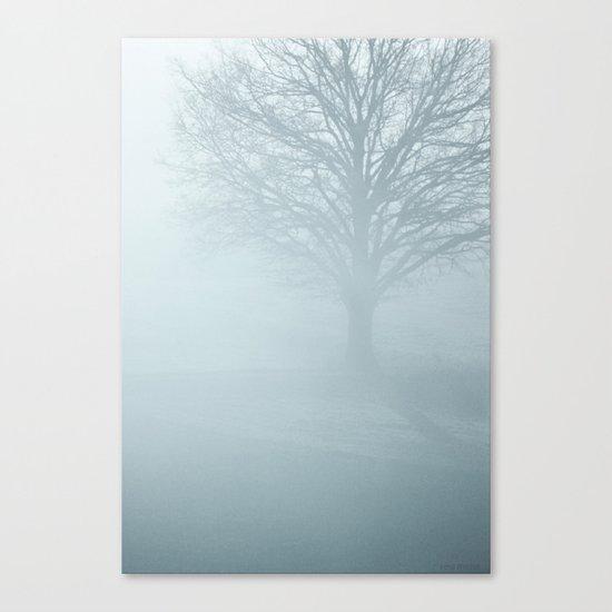 Tree / Winter Silence Canvas Print