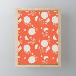Missing: oranges Framed Mini Art Print