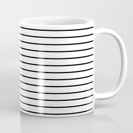 Minimalist Stripes Coffee Mug