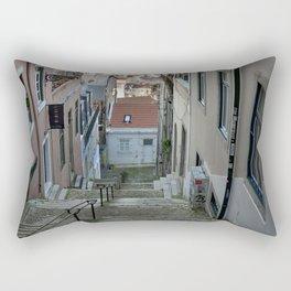 Lisbon stairs Rectangular Pillow