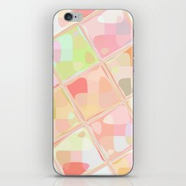 Re-Created Mirrored SQ LXXXVII by Robert S. Lee iPhone Skin