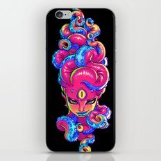 Tentacle Demoness (PINK version) iPhone & iPod Skin