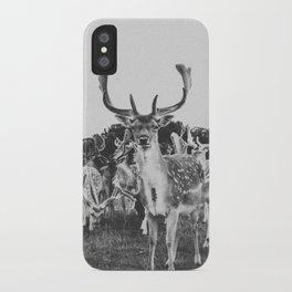 HELLO DEER II iPhone Case