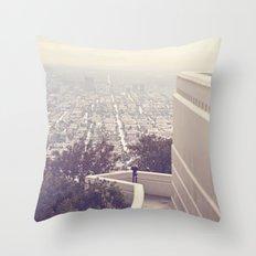 Vermont Avenue Throw Pillow