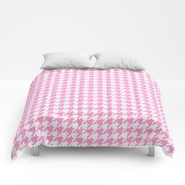 Rose Quartz Houndstooth Comforters
