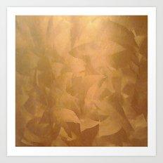Beautiful Copper Metal - Corporate Art - Hospitality Art - Modern Art Art Print