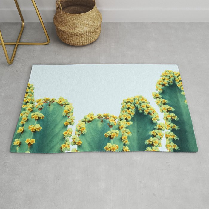 Adorned Cactus #society6 #artprints #buyart Rug