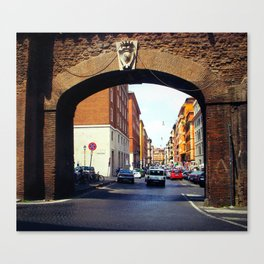 Streets of Roma  Canvas Print
