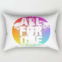 ALL FOR ONE Rectangular Pillow