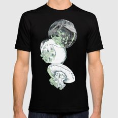 Jelly Fish Mens Fitted Tee Black MEDIUM