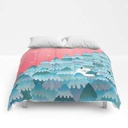Tree Hugger Comforters