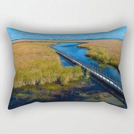 Point Pelee National Park Boardwalk in Leamington ON Canada Rectangular Pillow