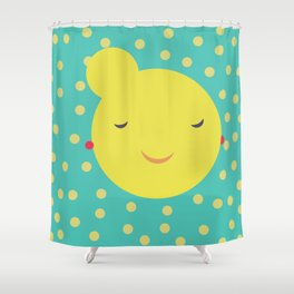 miss little sunshine Shower Curtain