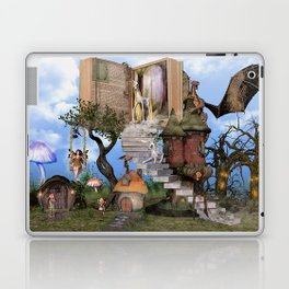 Bringing stories to life Laptop & iPad Skin