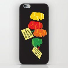 Stop Gummibear Cruelty! iPhone & iPod Skin
