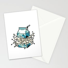 Milk Stationery Cards