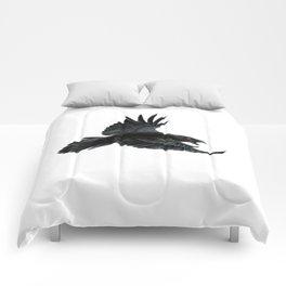Black Crow Red Eyes Comforters