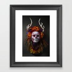 Autumn Muertita Front Framed Art Print