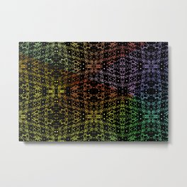 Colorandblack serie 96 Metal Print