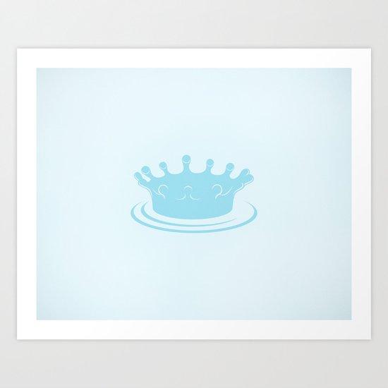 King Lake Art Print
