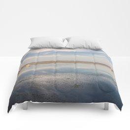 Sunset in Estonia Comforters