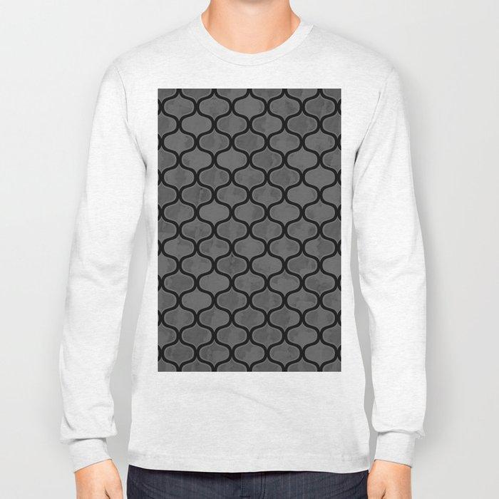 Watercolor Lovely Pattern VVXV Long Sleeve T-shirt