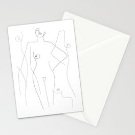 Nude and Naked Stationery Cards