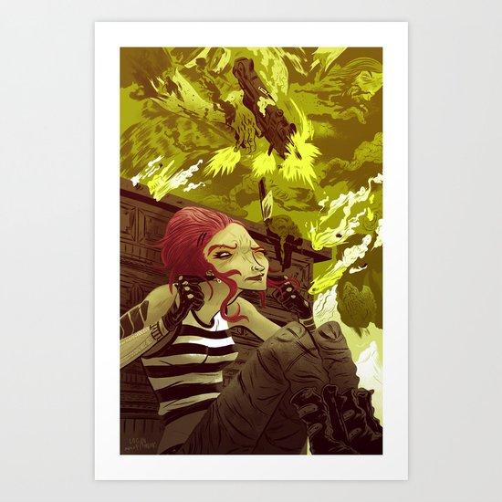 Petra Art Print