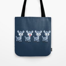 Hey look, it's Rudolph! Tote Bag