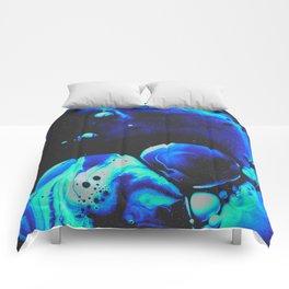 BLUE SUPREME DEVOTION Comforters