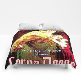 Vintage poster - Lorna Doone Comforters