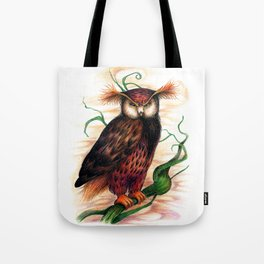 Sunset owl Tote Bag