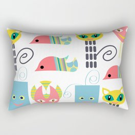 Monsters Rectangular Pillow