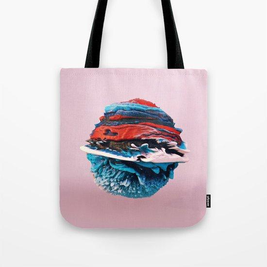 ACRYLIC BALL ABSTRACT // 3D ABSTRACT Tote Bag