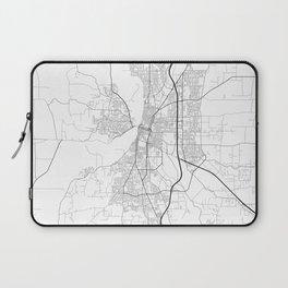 Minimal City Maps - Map Of Salem, Oregon, United States Laptop Sleeve