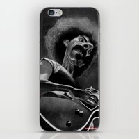 zappa iPhone & iPod Skins featuring Frank Zappa by Katon Aqhari