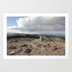 Lake District England Art Print