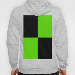 Big mosaic green black Hoody