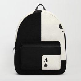 Ace of Spades Card Backpack