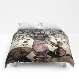 Purple Dogwoods Comforters