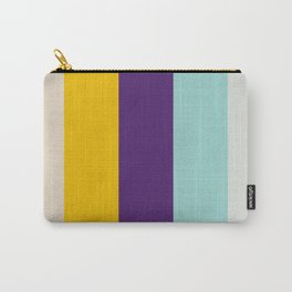 Colorful Stripes III Carry-All Pouch