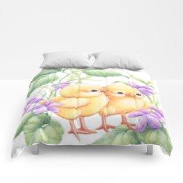 Easter Chicks Comforters