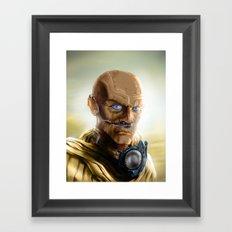 Fremen Warrior - Dune Framed Art Print