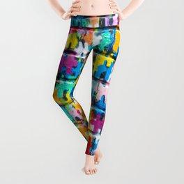 Rainbow Puzzle Leggings