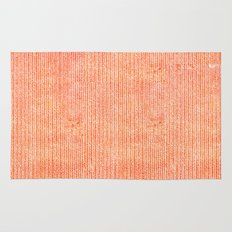Stockinette Orange Rug