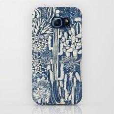Indigo cacti Galaxy S8 Slim Case