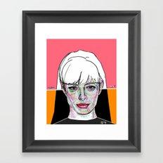 Jane Margolis BREAKING BAD Framed Art Print