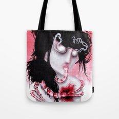 Bleeding-Hearted Tote Bag