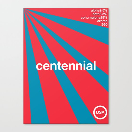 centennial//single hop Canvas Print