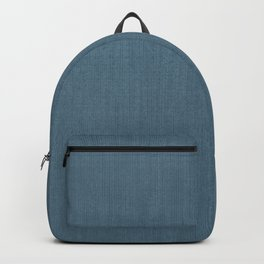 Blue Indigo Denim Backpack